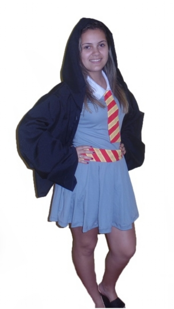 Fantasia Hermione De Harry Potter Fantasias Brilho E Magia