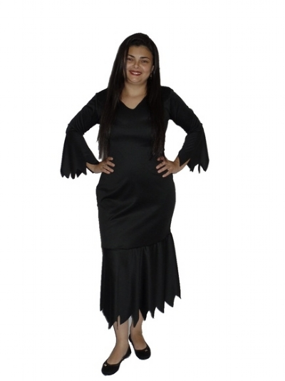 Fantasia Mortiça Plus Size