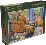 (7800) Playful Puppies - 1000 pcs