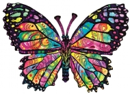 (8321) Stained Glass Butterfly - 1000 peças