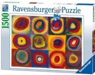[1143] Color Study of Squares and Circles - 1500 pcs