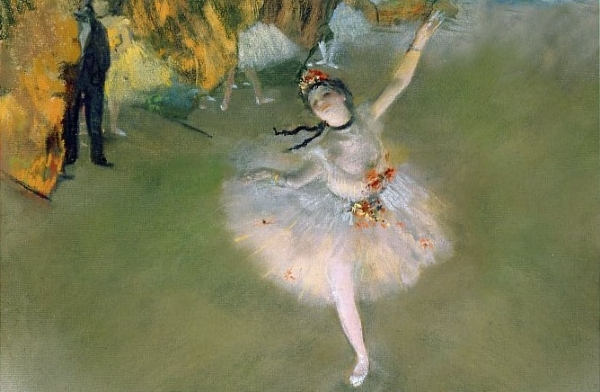 [8646] The Star: Dancer on the Stage - 1000 peças