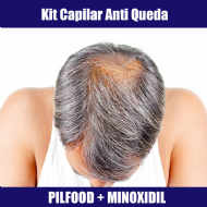 KIT CAPILAR ANTIQUEDA - PILLFOOD E MINOXIDIL