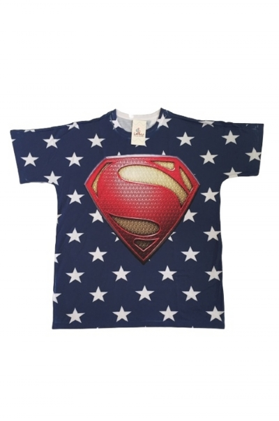 Camisa Pai Super Man Star