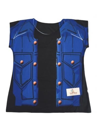Camisa Mãe Androide 18 - Dragon Ball