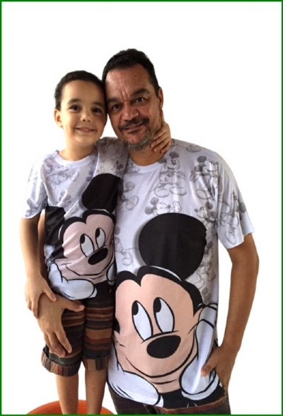 Camisa Mickey Legal - Body Bebê