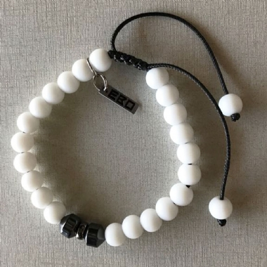 Pulseira White Party (unisex)