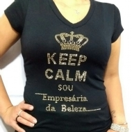 Camiseta Baby Loock ( Keep Calm)