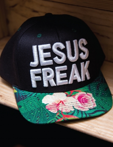 BONÉ JESUS FREAK ABA TROPICAL  2768e9fb6d8