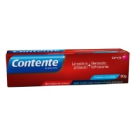Creme  Dental Gel Contente Cereja - 90 g