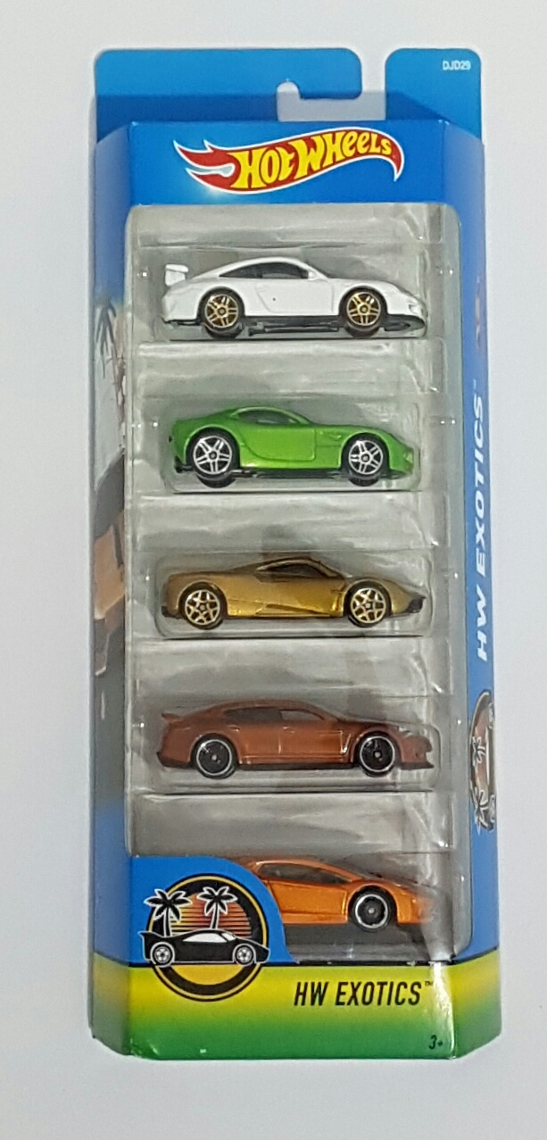 kit de Carrinhos hot wheels  HW EXOTICS