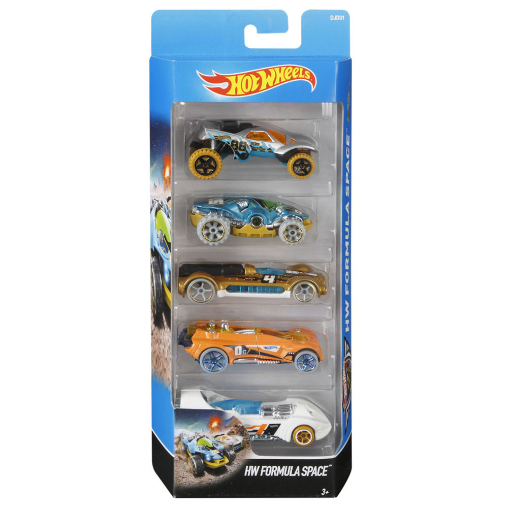 kit de Carrinhos hot wheels  HW FORMULA SPACE