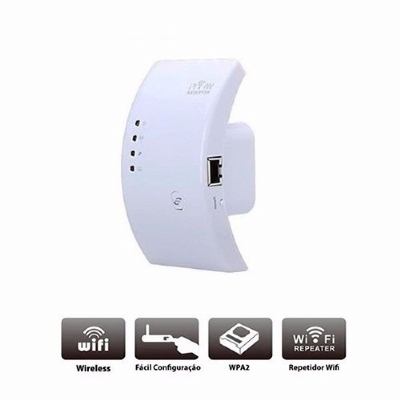 Wifi Repeater N - Repetidor 600mbps Amplificador Wireless