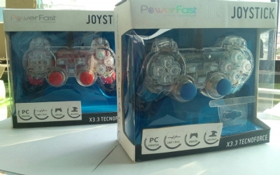 Joystick Power Fast Ps2 , Ps3 E Pc Led