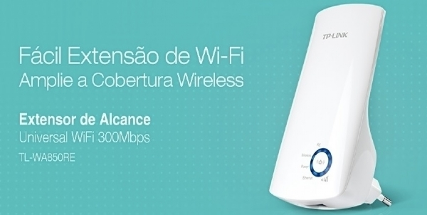 Repetidor Sinal Wireless Universal Wifi Tp-link 300mbps