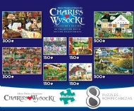 [8234] Charles Wysocki Collection - 2x 500pcs + 2x 300pcs + 4x 150pcs