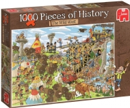 [7951] Pieces of History, The Wild West - 1000 peças