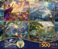 [4452] The Dreams, Disney Collection by Kinkade - 4 x 500 pcs