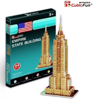[4700] Empire State Building - 3D Puzzle - 24 pcs IMG-40828