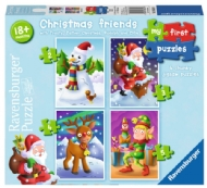 (8331) Christmas friends - 4 in 1