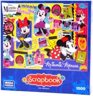 (6696) Scrapbook, Minnie Talks Fashion  - 1000 pcs