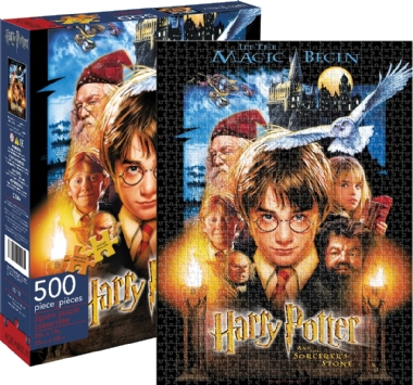 [7223] Harry Potter, and The Sorcerer s Stone - 500 peças