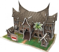[6735] Traditional Residence in Indonesia - 3D Puzzle - 30 peças