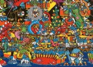 (2731) Where´s Wally - Bright Lights and Night Frights - 500 pcs