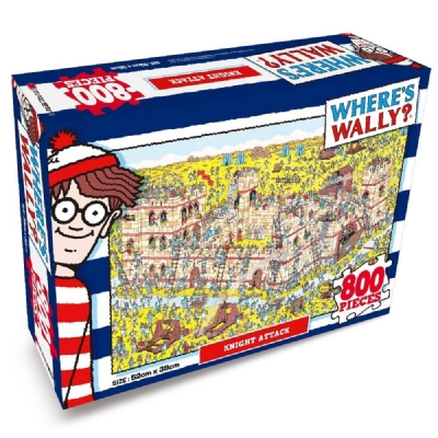 [9232] Wheres Wally? Knight Attack - 800 peças