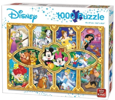 [9426] Magical Moments Disney, Friends & Family - 1000 peças