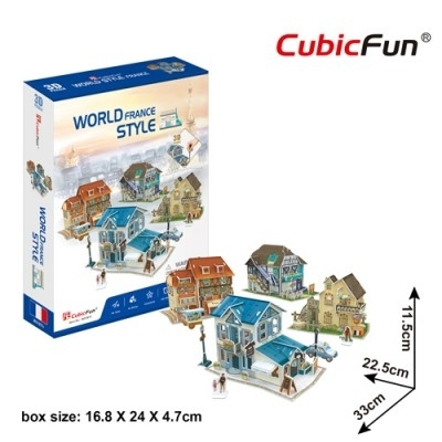 [9478] World Style France - 161 pieces