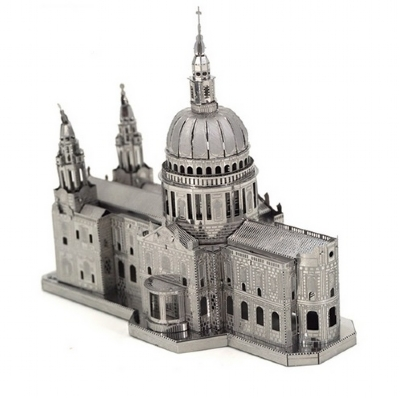 [9554] Nano Metal Puzzle - St. Pauls Cathedral