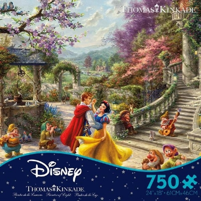 [9674] Snow White Dancing in the Sunlight - 750 peças