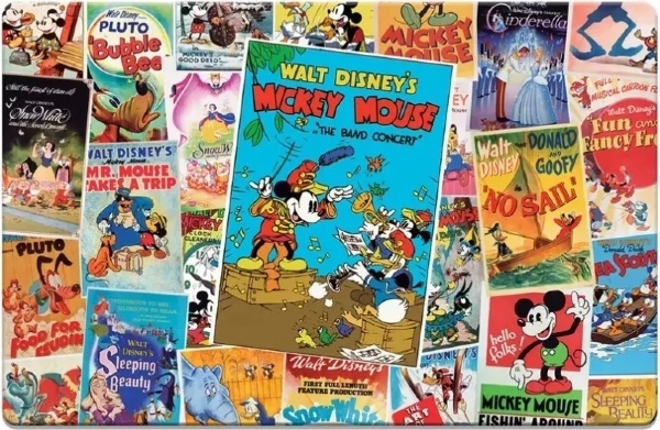 [8699] Mickey Mouse, Posters - 2000 peças