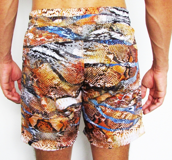 Shorts Estampado Cobra